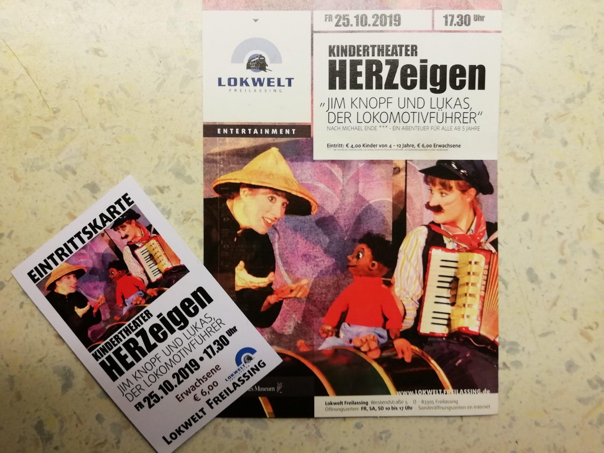 Markus Hiebl | unabhängiger Bürgermeisterkandidat Freilassing beim Kindertheater HERZeigen in der Lokwelt