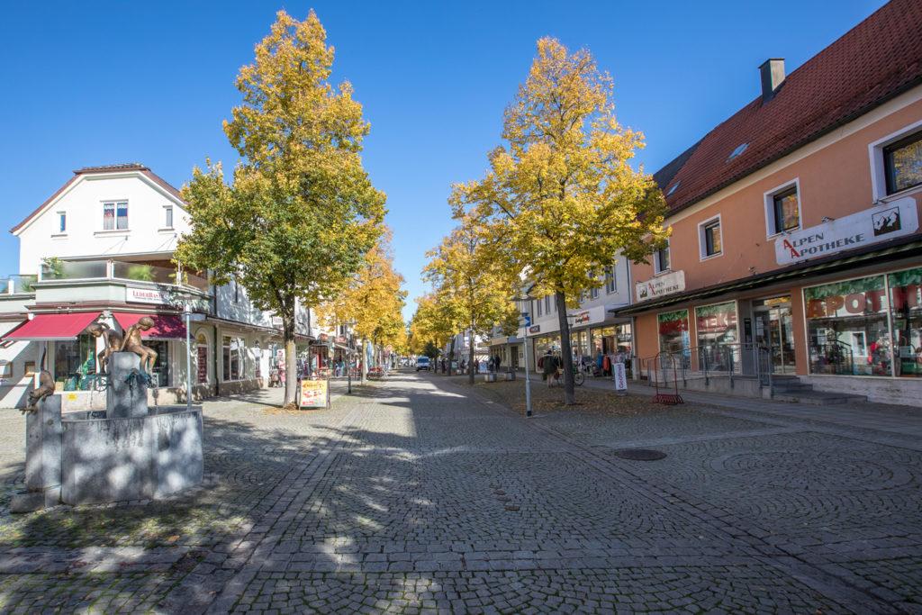 Markus Hiebl, unabhängiger Bürgermeisterkandidat von Freilassing | Die Fußgängerzone und die Innenstadt in Freilassing möchte ich mit vielen in andere Schwerpunkte greifenden Maßnahmen wiederbeleben.