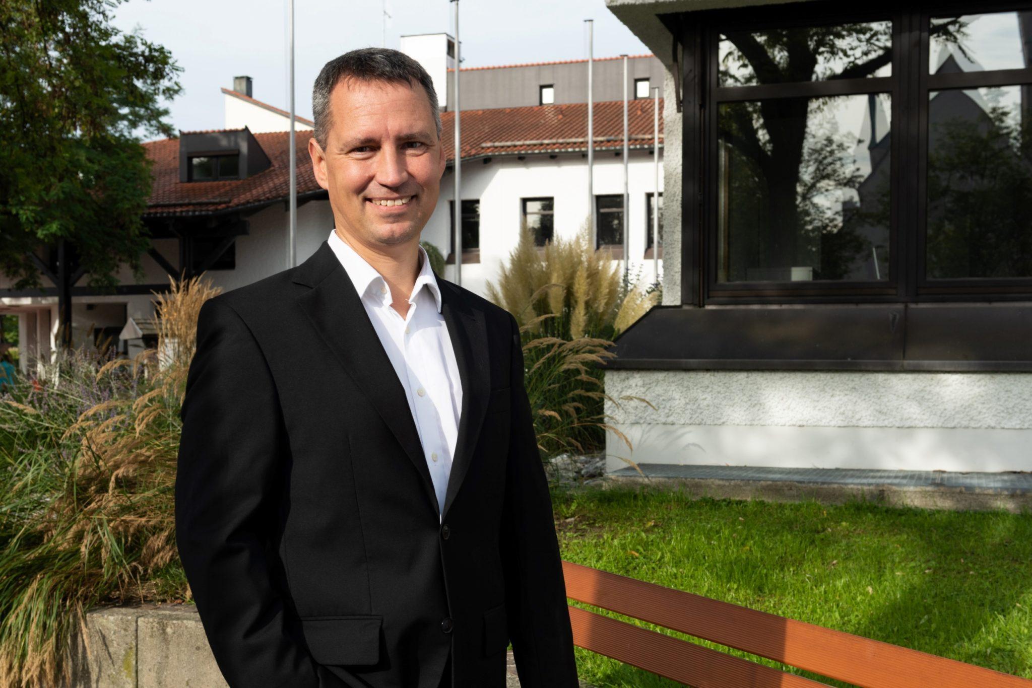 Markus Hiebl, unabhängiger Bürgermeisterkandidat von Freilassing, setzt auch auf die Inklusion der Jugend