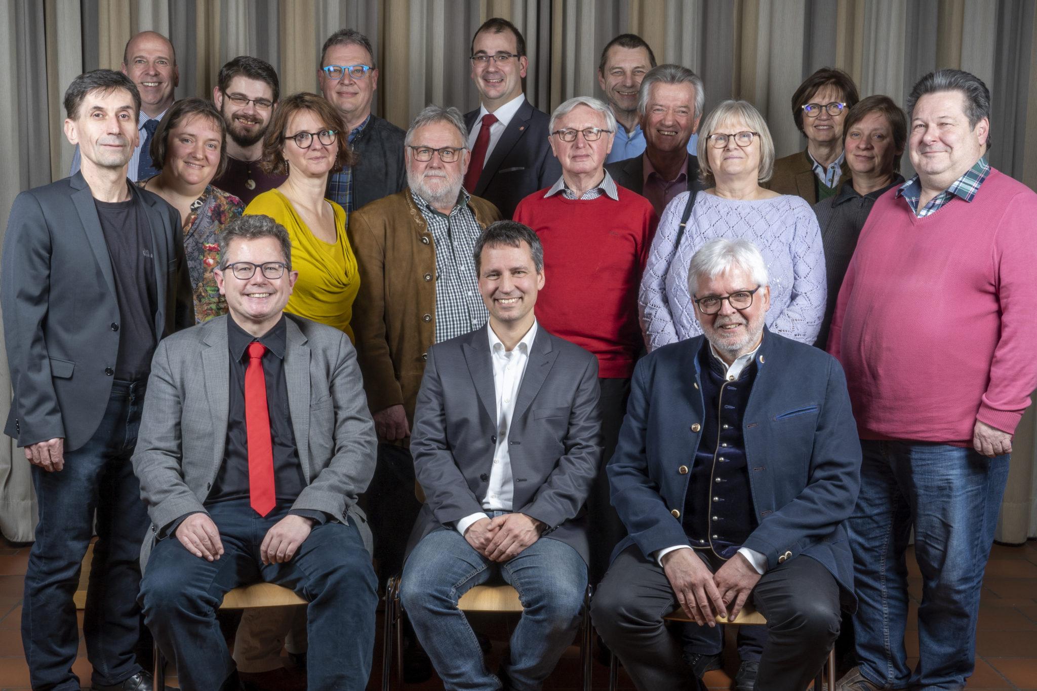 Gruppenbild SPD Freilassing mit Markus Hiebl