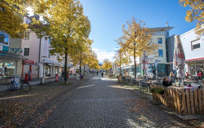 Markus Hiebl   unabhängiger Bürgermeisterkandidat Freilassing – die Fußgängerzone von Freilassing